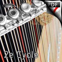 Marche de Brian Boru - Flûte & Harpe - TRADITIONNEL IRLANDAIS