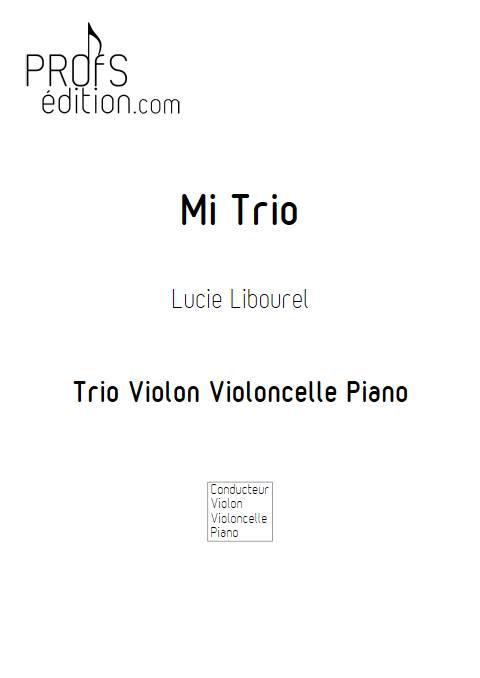 Mi Trio - Trio cordes - LIBOUREL L. - page de garde