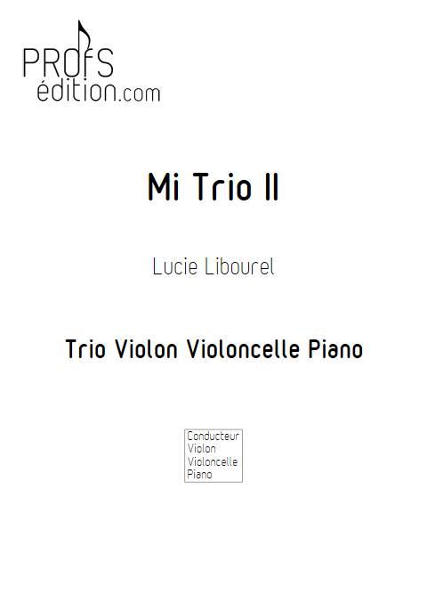 Mi Trio II - Trio cordes - LIBOUREL L. - page de garde