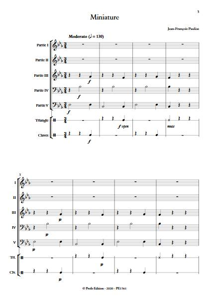 Miniature - Ensemble Variable - PAULEAT J-F - app.scorescoreTitle