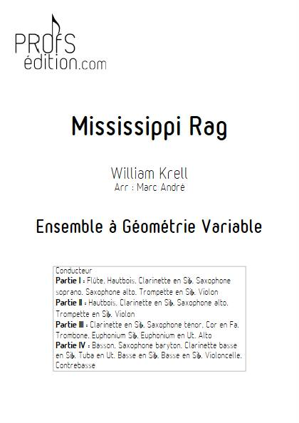 Mississippi Rag - Ensemble Variable - KRELL W. - page de garde