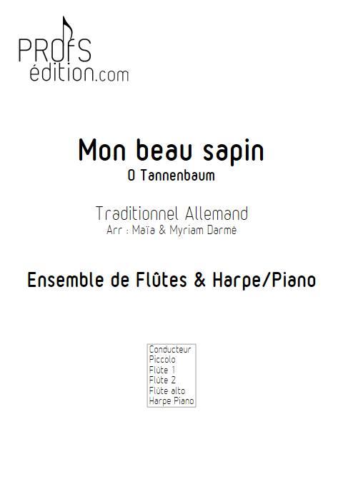 Mon beau Sapin - Ensemble de Flûtes - TRADITIONNEL ALLEMAND - page de garde