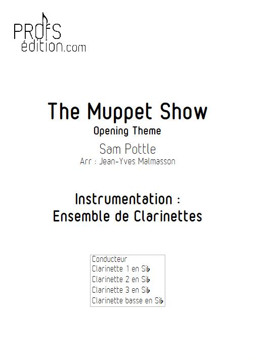 Muppet Show - Ensemble de Clarinettes - HENSON J. - page de garde