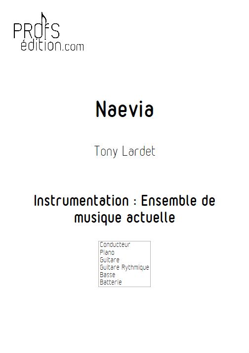 Naevia - Musique Actuelle - LARDET T. - page de garde