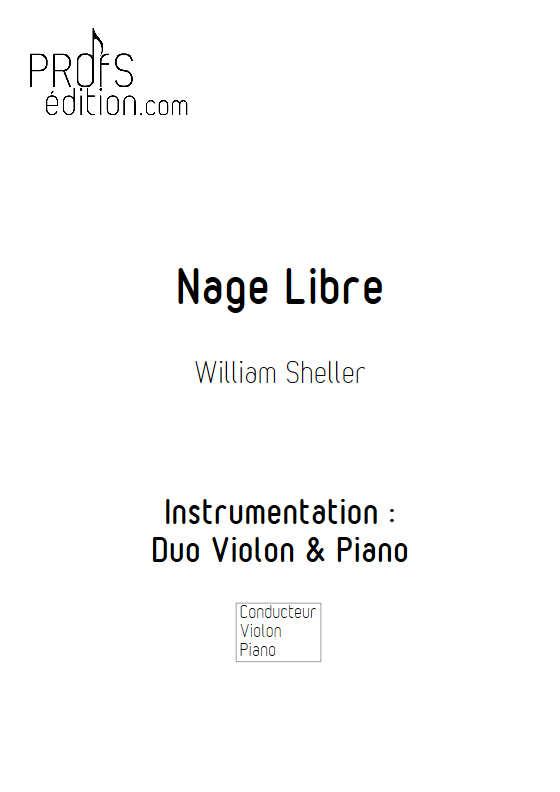 Nage libre - Violon & Piano - SHELLER W. - page de garde