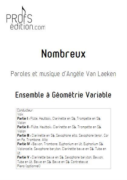 Nombreux - Ensemble Variable - ANGELE - page de garde
