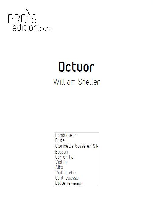 Octuor - SHELLER W. - page de garde