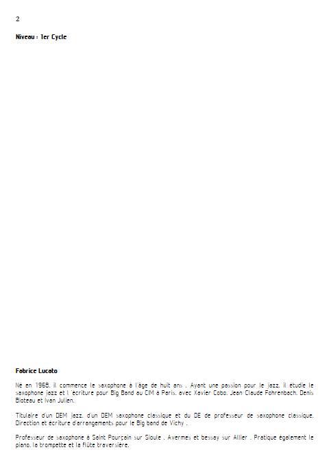 On écrit sur les murs - Trio de Flûtes - MUSUMARRA R. - Fiche Pédagogique