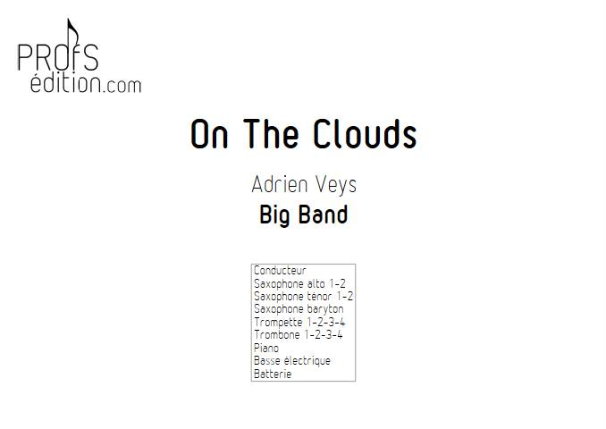 On the clouds - Big Band - VEYS A. - page de garde