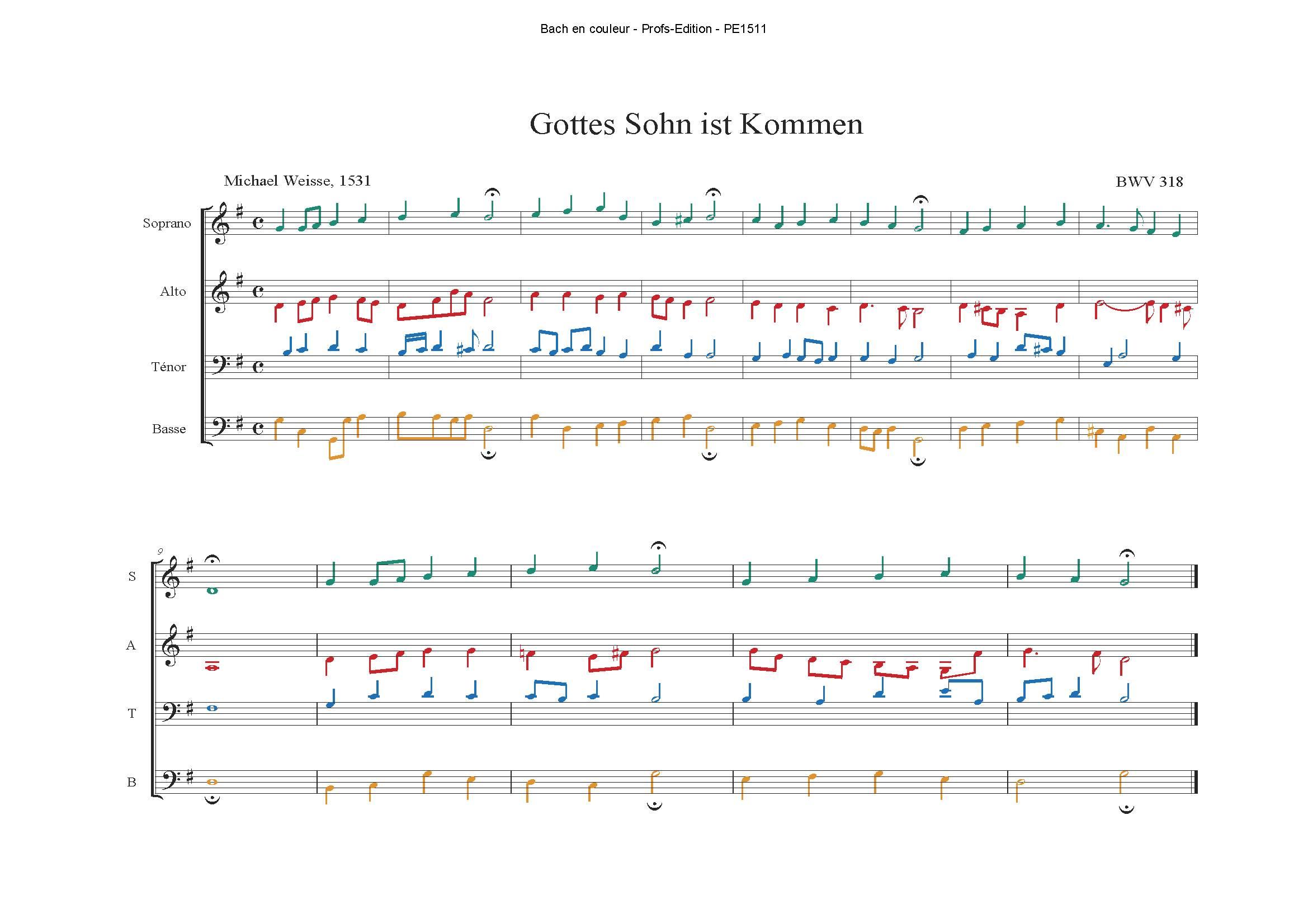 Orgelbüchlein - Analyse Musicale - CHARLIER C. - app.scorescoreTitle