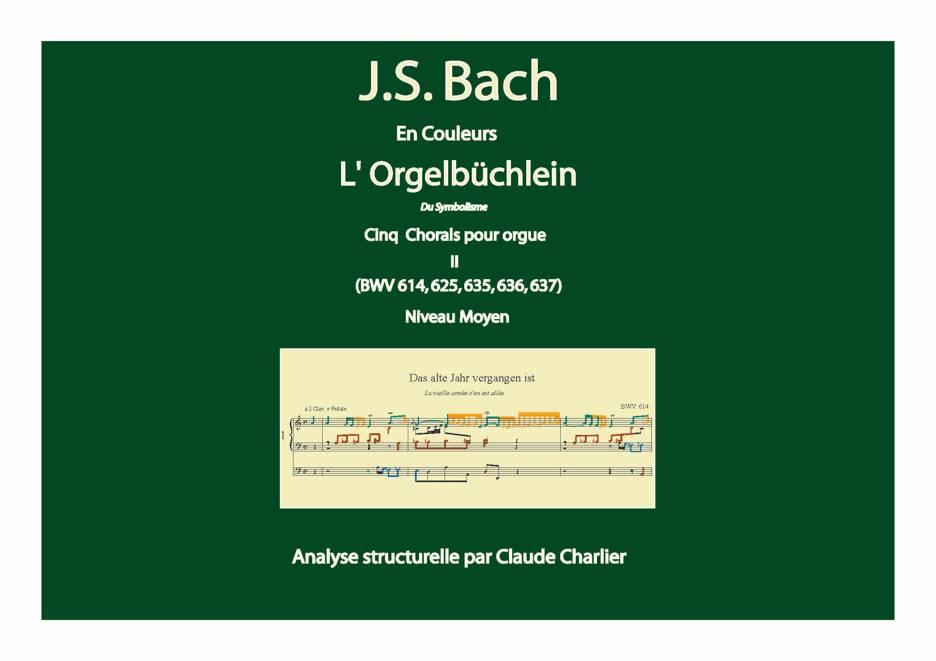 Orgelbüchlein II - Analyse Musicale - CHARLIER C. - page de garde