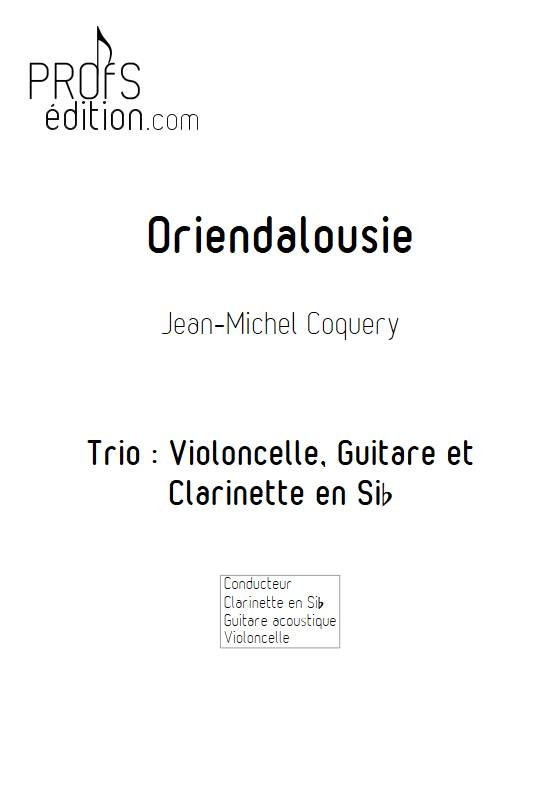 Oriendalousie - Trio - COQUERY J. M. - page de garde