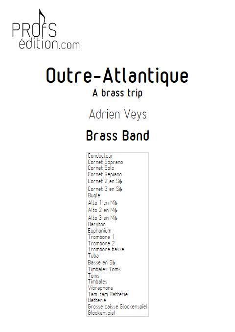 Outre Atlantique - Brass Band - VEYS A. - page de garde