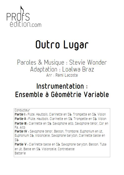 Outro lugar - Ensemble Variable - WONDER S. - page de garde