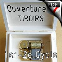 Ouverture à Tiroirs - Ensemble à Géométrie Variable - SCHMELTZ J.