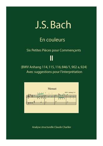 Bach en Couleurs (6 petites pièces) - Analyse Musicale - CHARLIER C. - page de garde