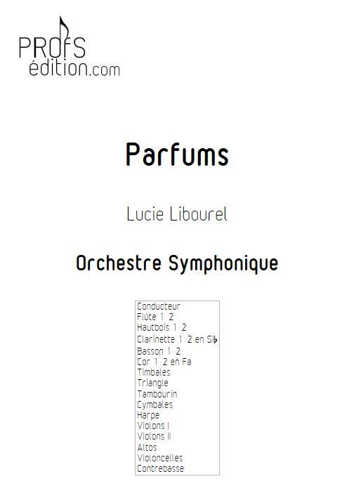 Parfums - Orchestre Symphonique - LIBOUREL L. - page de garde