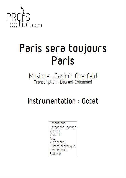 Paris sera toujours Paris - Octet - OBERFELD C. - page de garde