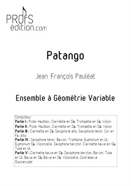 Patango - Ensemble Variable - PAULEAT J. F. - page de garde