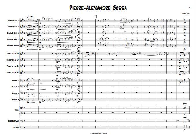 Pierre-Alexandre Bossa - Big Band - VEYS A. - app.scorescoreTitle