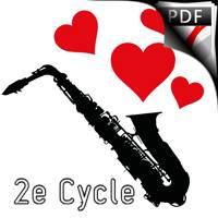 Plaisir d'Amour - Quatuor de Saxophones - MARTINI J-P-E