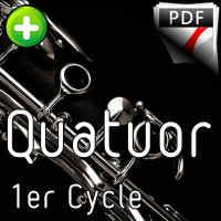 Tri Martelod - Quatuor de Clarinettes - TRADITIONNEL BRETON