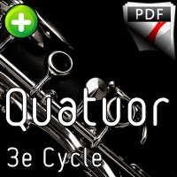 Tango pour Claude - Quatuor de Clarinettes - GALLIANO R.