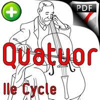 Beym rebin's sude - Quatuor Violoncelles - FORRÉ C.