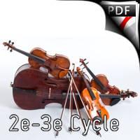 La cruche à l'eau - Quatuor à Cordes - PLOQUIN E.