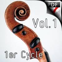 Quintes et Sens - Recueil 1 - Violon Piano - QUESSON M.