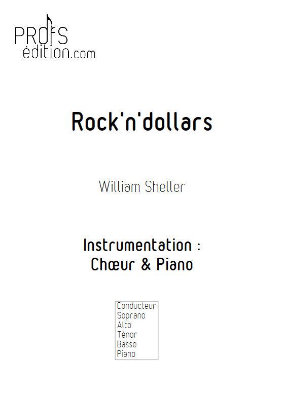 Rock'N'Dollars - Chœur & Piano - SHELLER W. - page de garde
