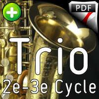 Adios Nonino - Trio de Saxophones - PIAZZOLA A.