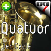 Ave Verum - Quatuor de Saxophones - SAINT-SAENS C.