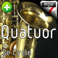 Tango pour Claude - Quatuor de Saxophones - GALLIANO R.