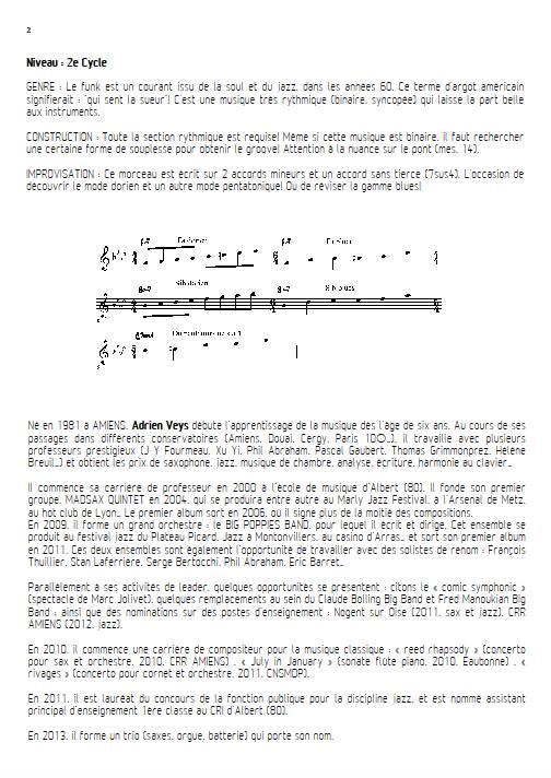 Shake Up - Quatuor de Flûtes - VEYS A. - Fiche Pédagogique
