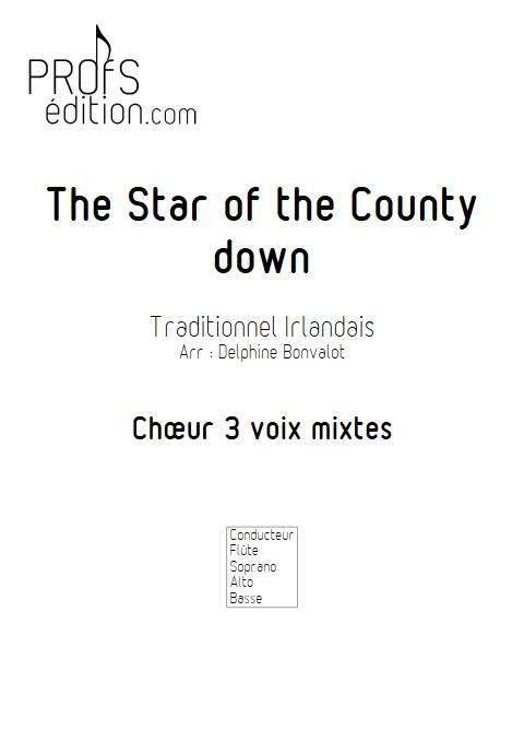 Star of the County Down - Chœur - TRADITIONNEL IRLANDAIS - page de garde