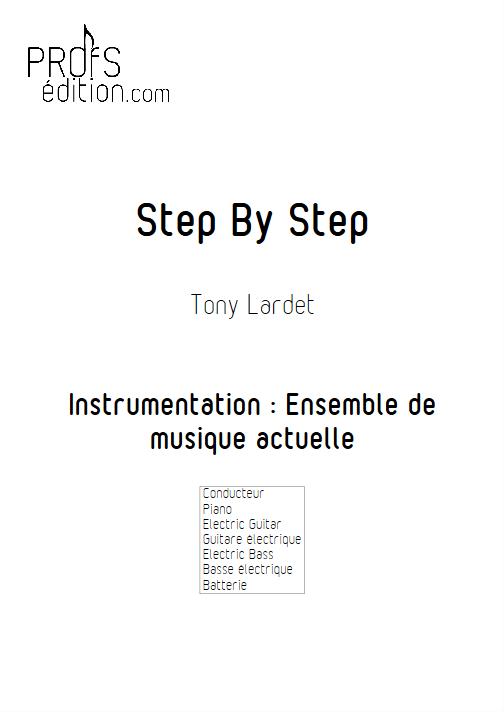Step By Step - Musique Actuelle - LARDET T. - page de garde