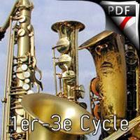 Summertime - Ensemble de Saxophones - GERSHWIN G.