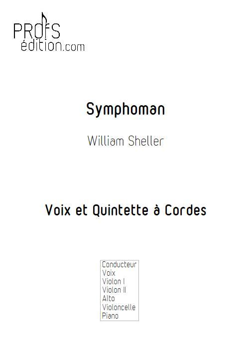 Symphoman - Chant et Quintette à Cordes - SHELLER W. - page de garde
