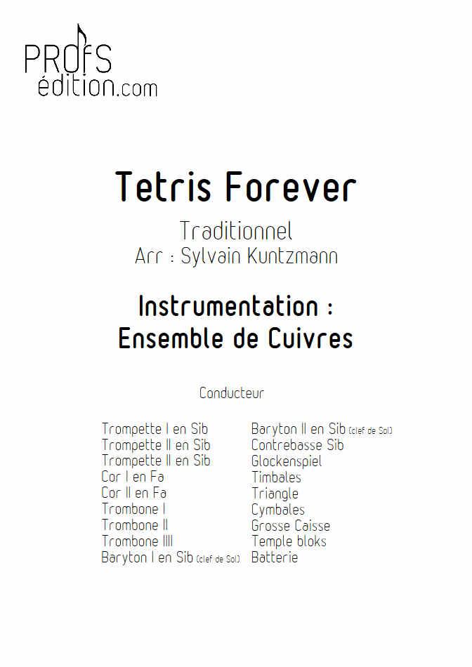 Tétris - Ensemble de Cuivres - TRADITIONNEL RUSSE - page de garde
