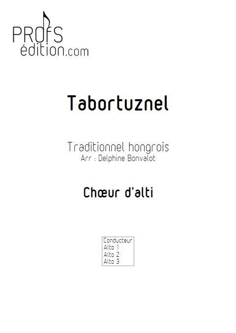 Tabortuznel - Chœur d'Alti - Traditionnel Hongrois - page de garde