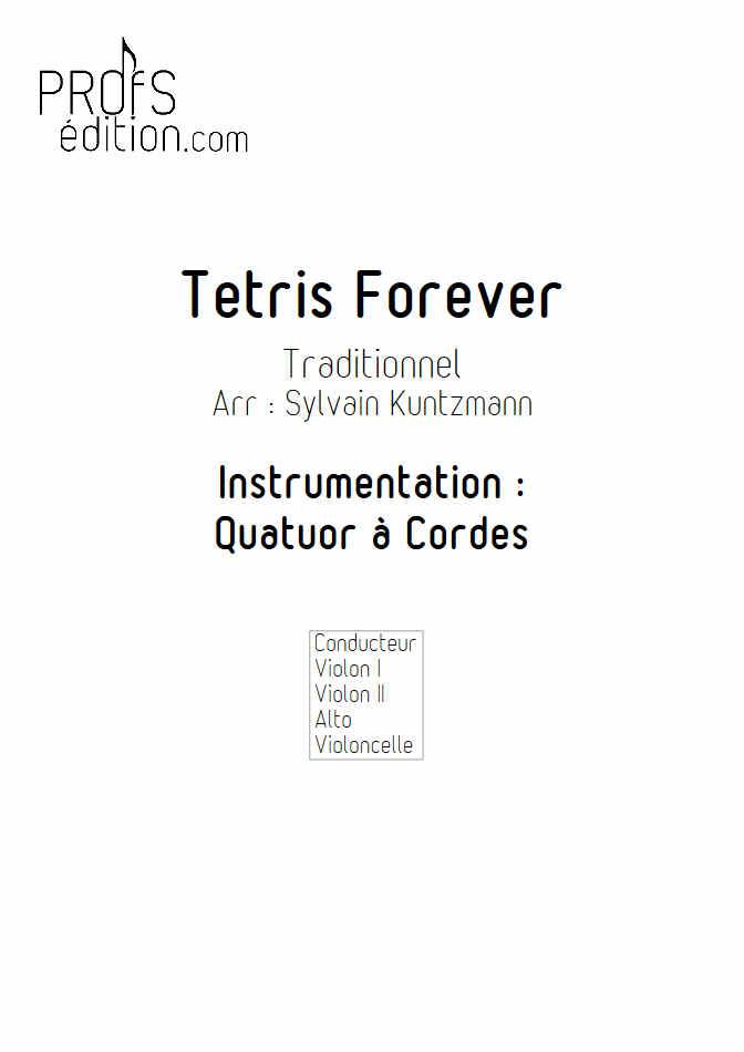 Tétris - Quatuor à Cordes - TRADITIONNEL RUSSE - page de garde