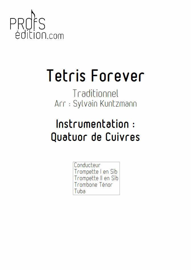Tétris - Quatuor de Cuivres - TRADITIONNEL RUSSE - page de garde