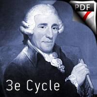 Theme et variation Haydn - Quatuor de Saxophones - HAYDN J.