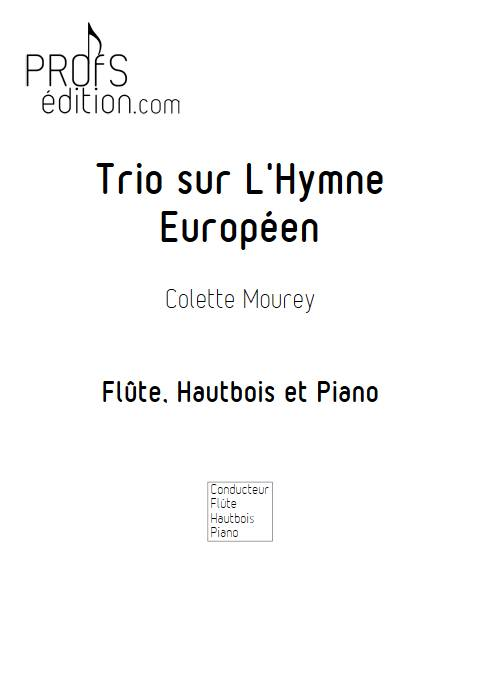 Trio sur l'Hymne Européen - Trio Flûte Hautbois Piano - BEETHOVEN L. V. - page de garde