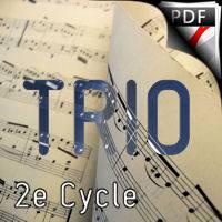 Trio sur l'Hymne Européen - Trio Flûte Hautbois Piano - BEETHOVEN L. V.