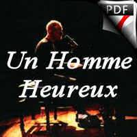 Un Homme Heureux - Piano Voix - SHELLER W.