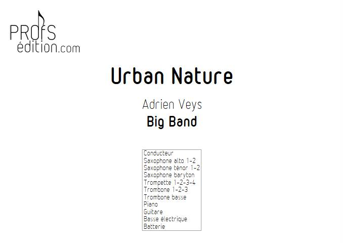 Urban Nature - Big Band - VEYS A. - page de garde