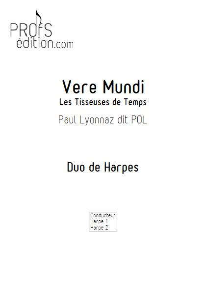 Vere Mundi - Duo de Harpes - LYONNAZ P. - page de garde