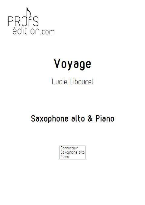 Voyage - Duo Saxophone Piano - LIBOUREL L. - page de garde
